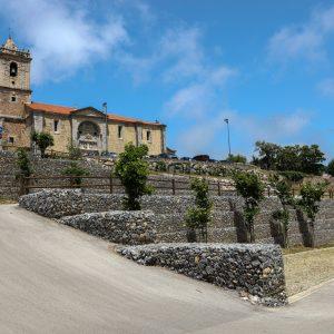 Urbanización Barrio y Plaza de San Pedro en Arnuero, (Cantabria)