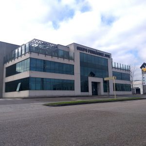 Oficinas Centrales Grupo Fernández Jove en P.I. Tanos-Viérnoles, (Cantabria)