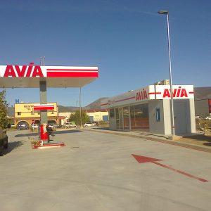 Gasolinera en Reinosa, (Cantabria)