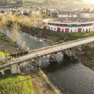 Ampliación Puente CA-258  en Ampuero, (Cantabria)