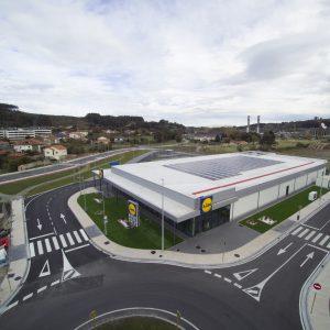 Supermercado Zona Comercial Ganzo-Torrelavega, (Cantabria)